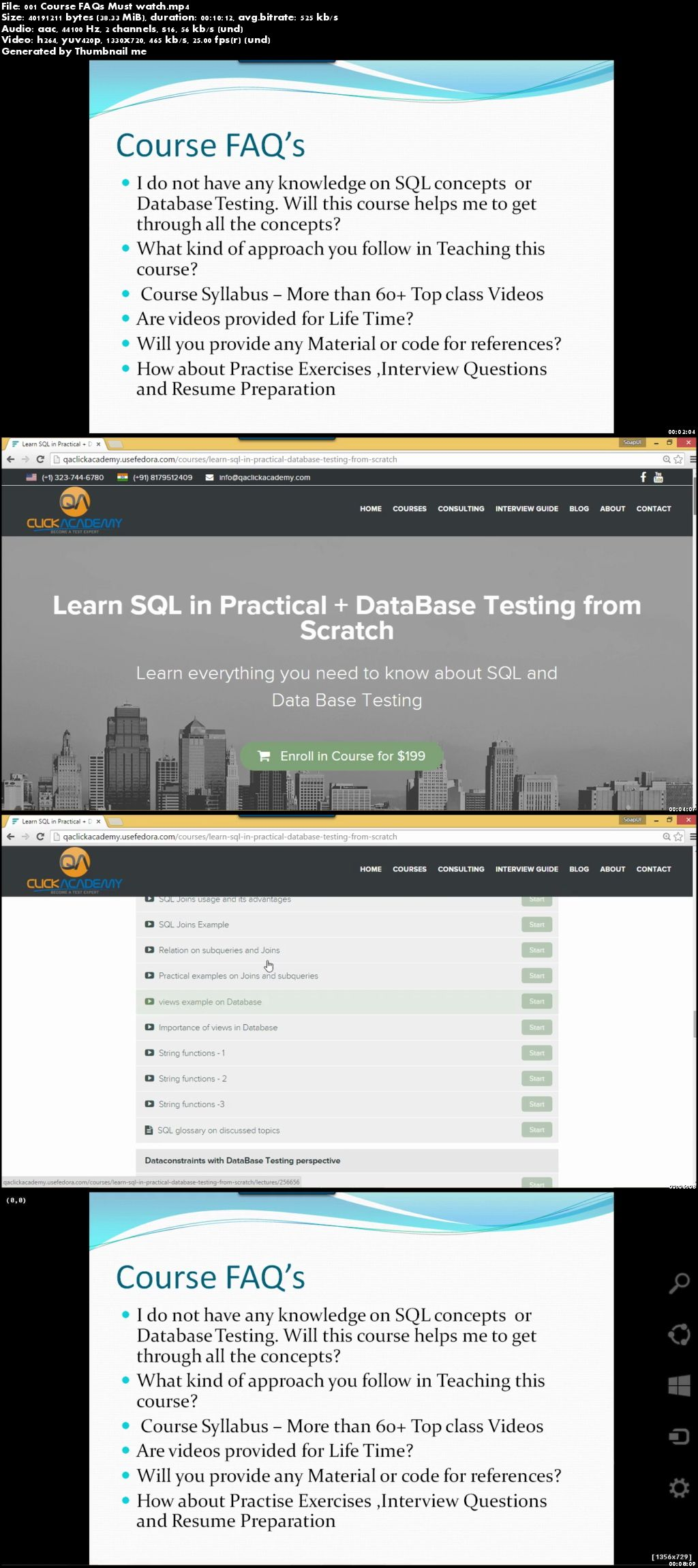 Udemy – Learn SQL with Database Testing from Scratch
