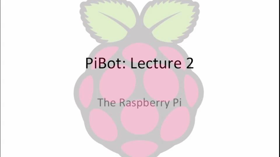 Udemy – PiBot: Build Your Own Raspberry Pi Powered Robot