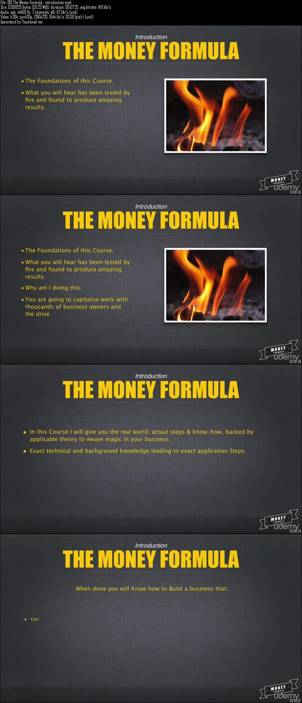 Udemy – The Money Formula