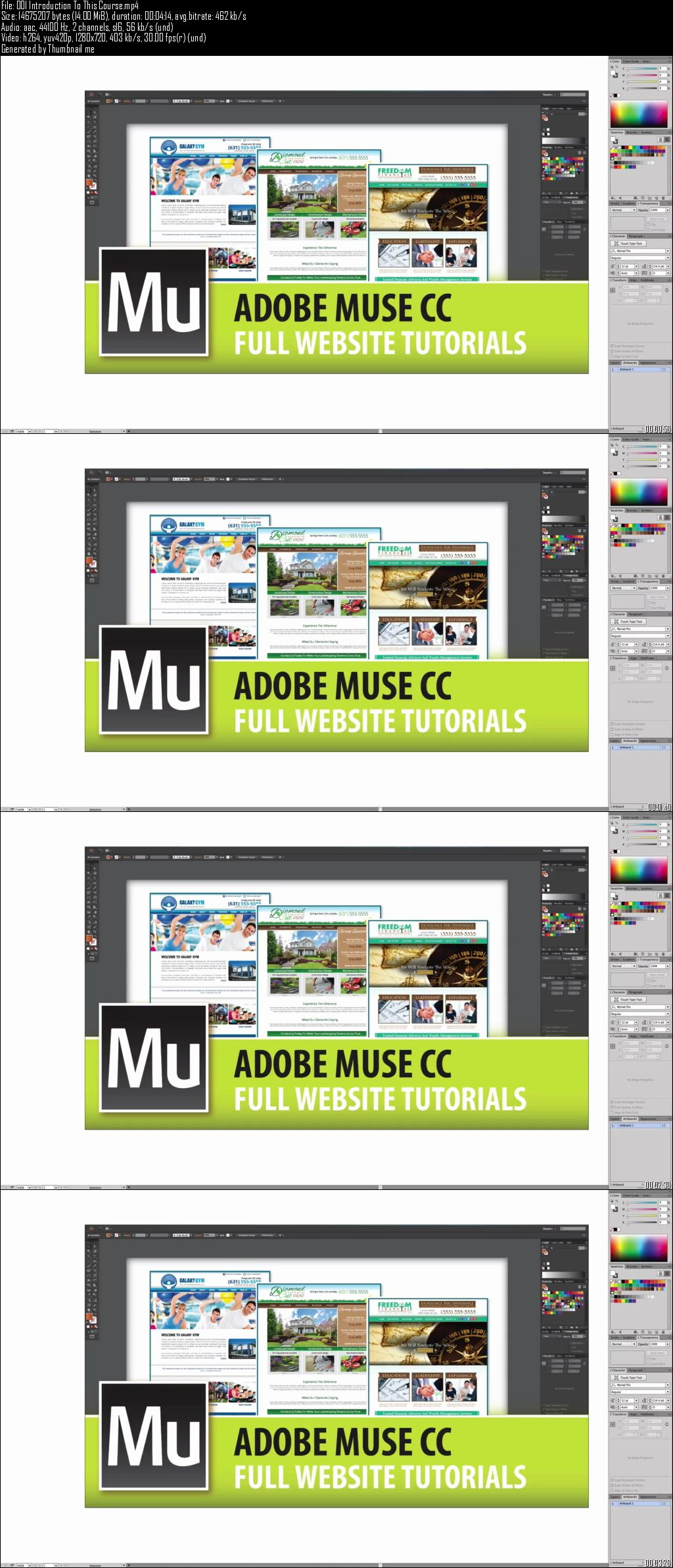 Udemy – Adobe Muse - Full Website Tutorials From Start To Finish