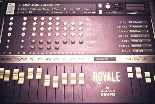 Analogue Drums Royale KONTAKT