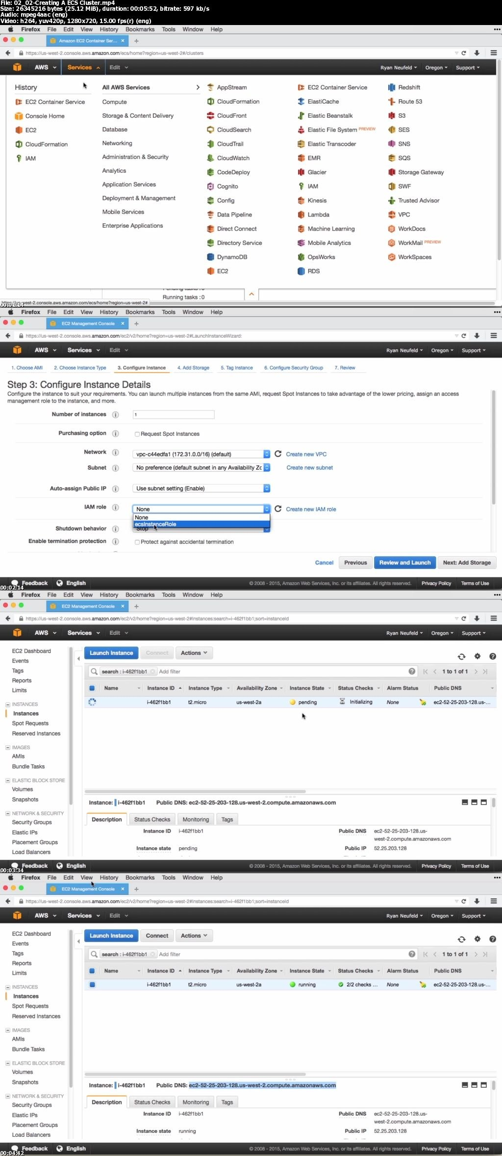 Deploying Docker Containers to Amazon Web Services