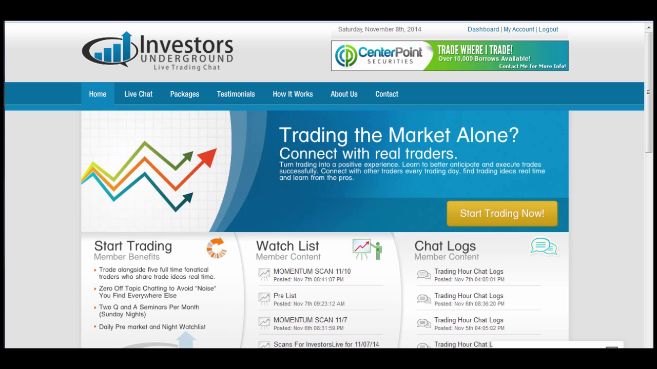 InvestorsLive DVD - Tandem Trader with Nathan Michaud