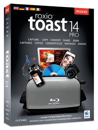Toast Titanium Pro 14.0 Build 3734 (Mac OS X)