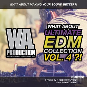 WA Production What About Ultimate EDM Collection Vol.4 WAV MiDi Sylenth1 SPiRE screenshot