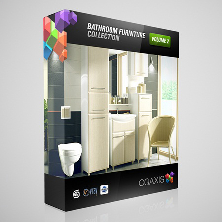 CGAxis Models Volume 2: Bathrooms