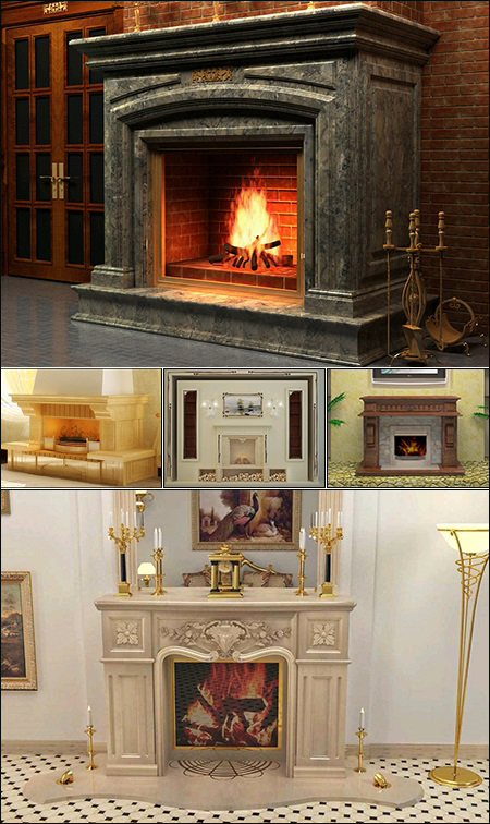 Classic Fire Place & Radiator