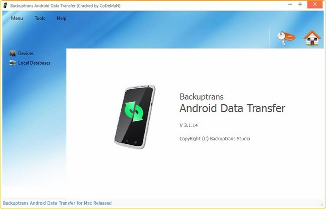 Backuptrans Android Data Transfer 3.1.14