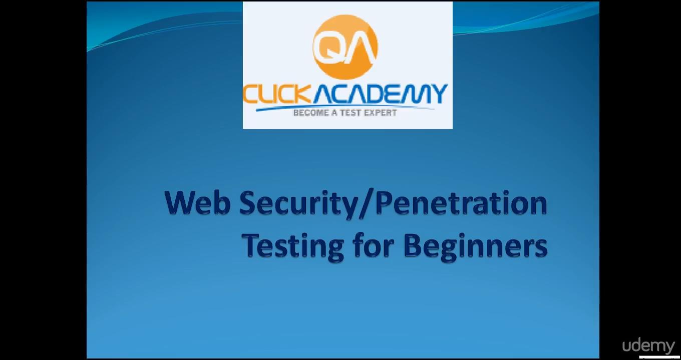 WebSecurity Testing for Beginners-QA knowledge to next level