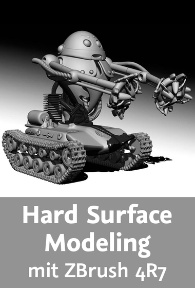 Video2Brain - Hard Surface Modeling mit ZBrush 4R7
