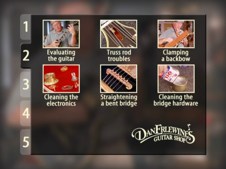 Dan Erlewine's: Maintenance & Setup for Steel-string Acoustic Guitars - Vol. 1