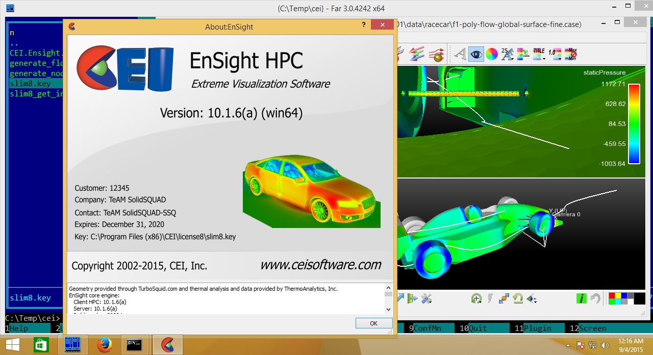 CEI EnSight 10.1.6(a)