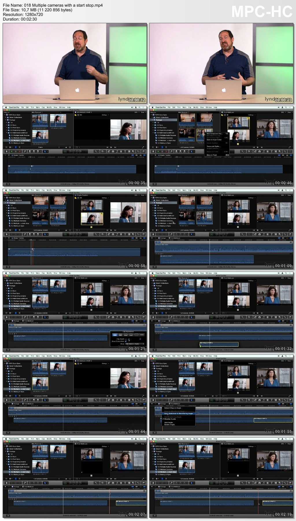 Lynda - Final Cut Pro X Guru: Sync Sound Workflow