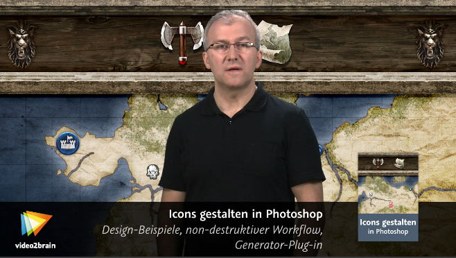 Video2Brain - Icons gestalten in Photoshop