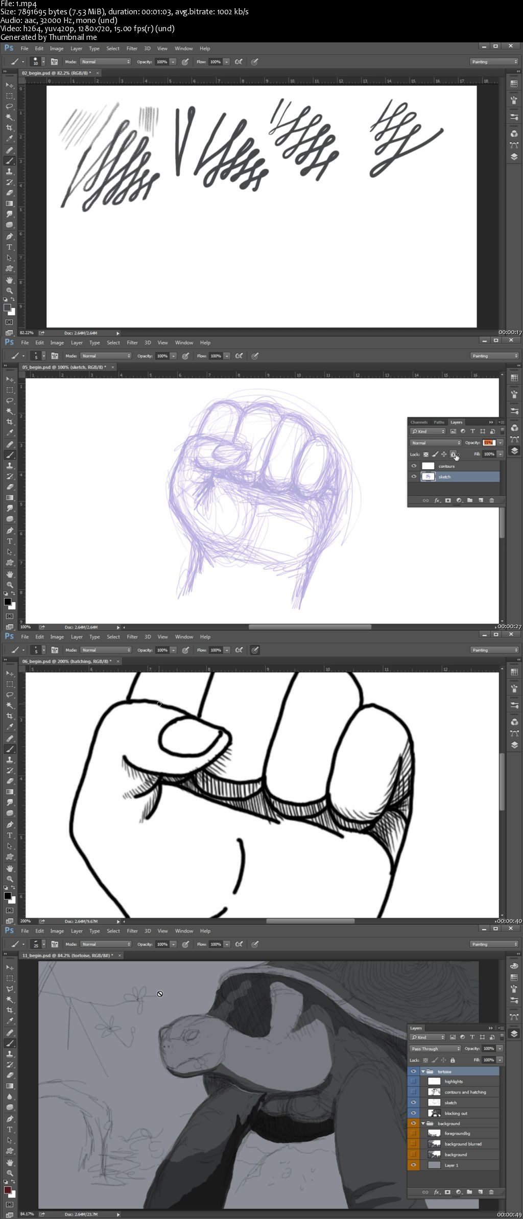 Fundamentals of Digital Drawing in Photoshop
