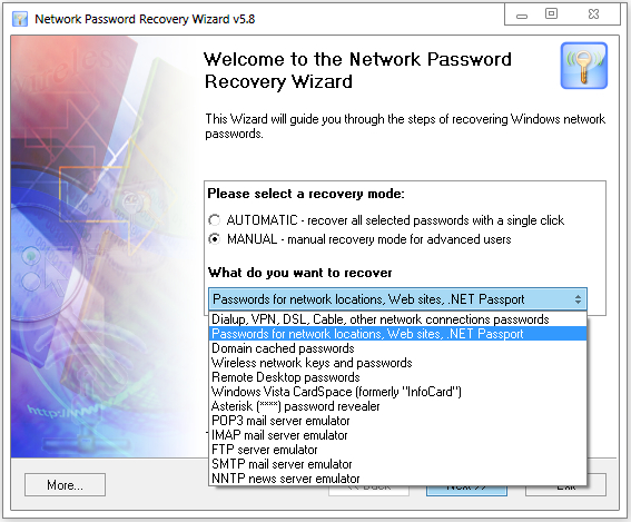 Passcare Network Password Recovery Wizard 5.8.4.680 Multilingual