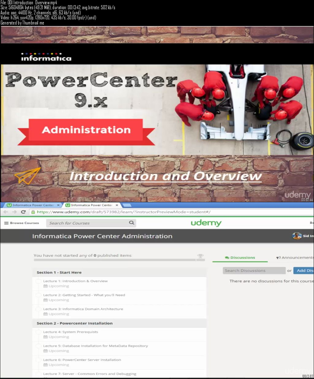 Informatica Power Center Administration