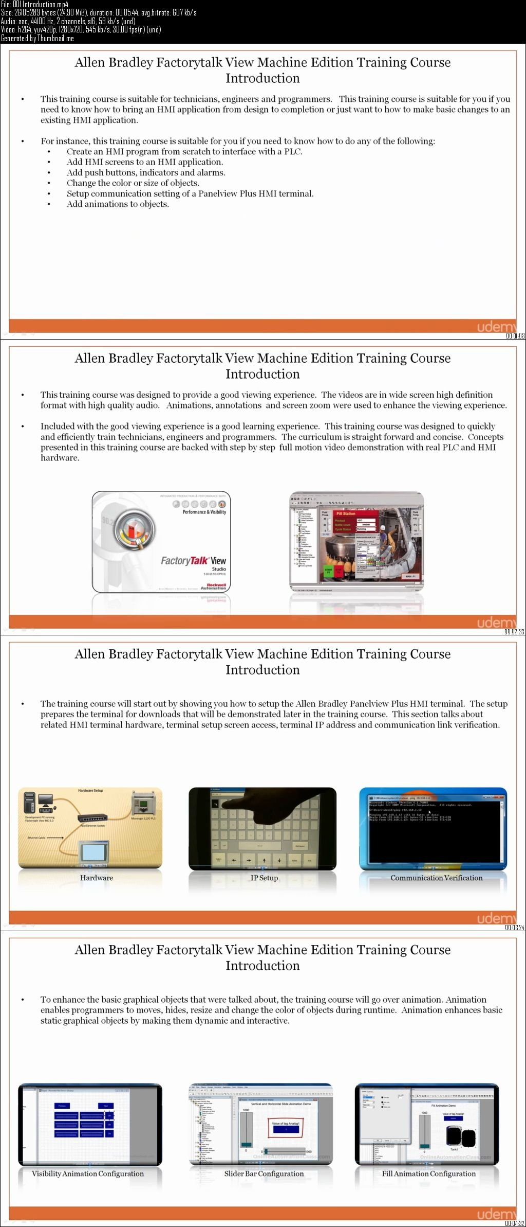 Allen Bradley Panelview Plus HMI Programming Training Course