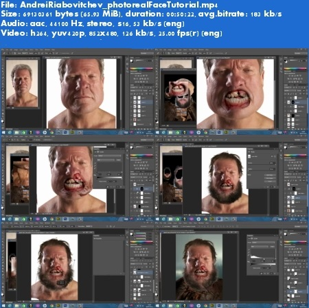 Giant Face Photoreal style of concepts for films and VFX Andrei Riabovitchev