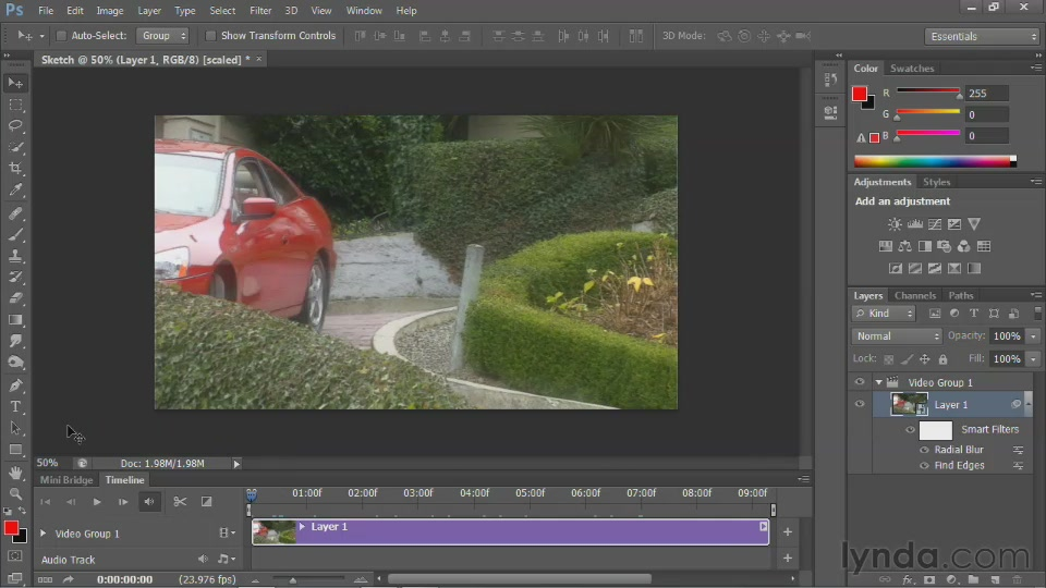 Photoshop for Video Editors: Core Skills