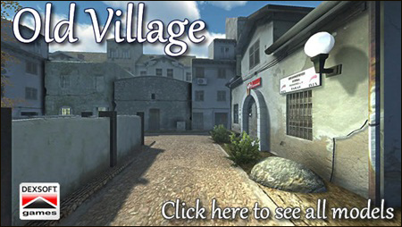 DEXSOFT-GAMES: Old Village model pack