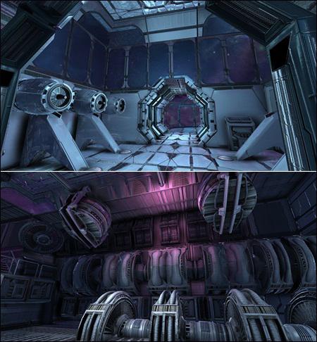 Arteria3d - SciFi Interior Construction Pack