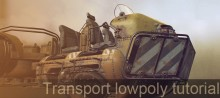 Gumroad – Transport Lowpoly Tutorial with MODO by Tor Frick
