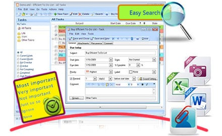 Efficient To-Do List 5.10 Build 511 Multilingual + Portable