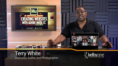 KelbyOne - Creating a Website with Muse CC (2015)