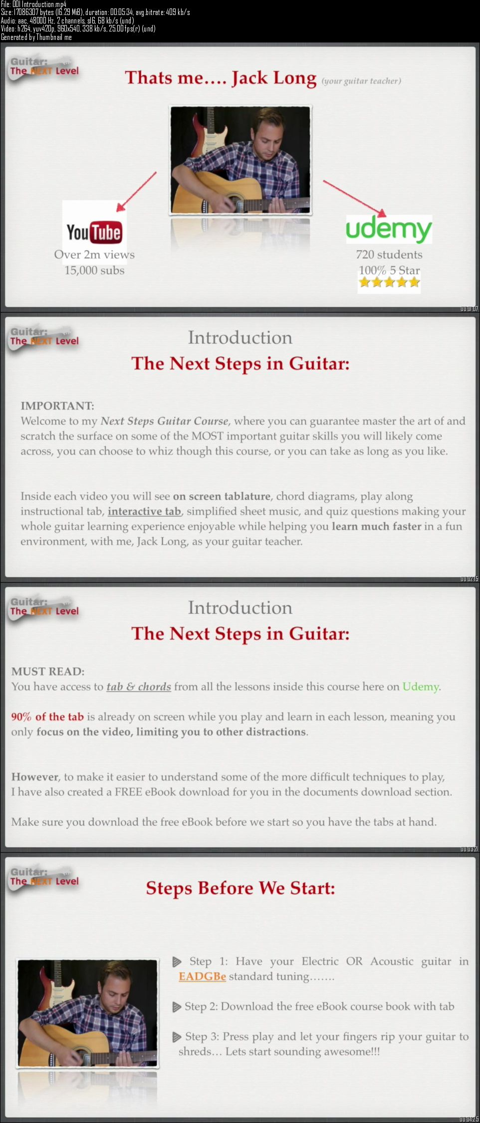 Udemy – Guitar: The Next Level