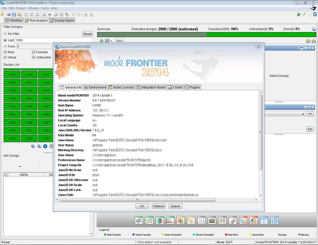 ESTECO modeFRONTIER 2014.1 version 4.6