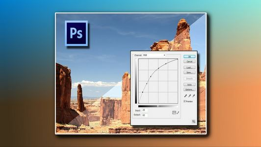Photoshop Levels And Curves