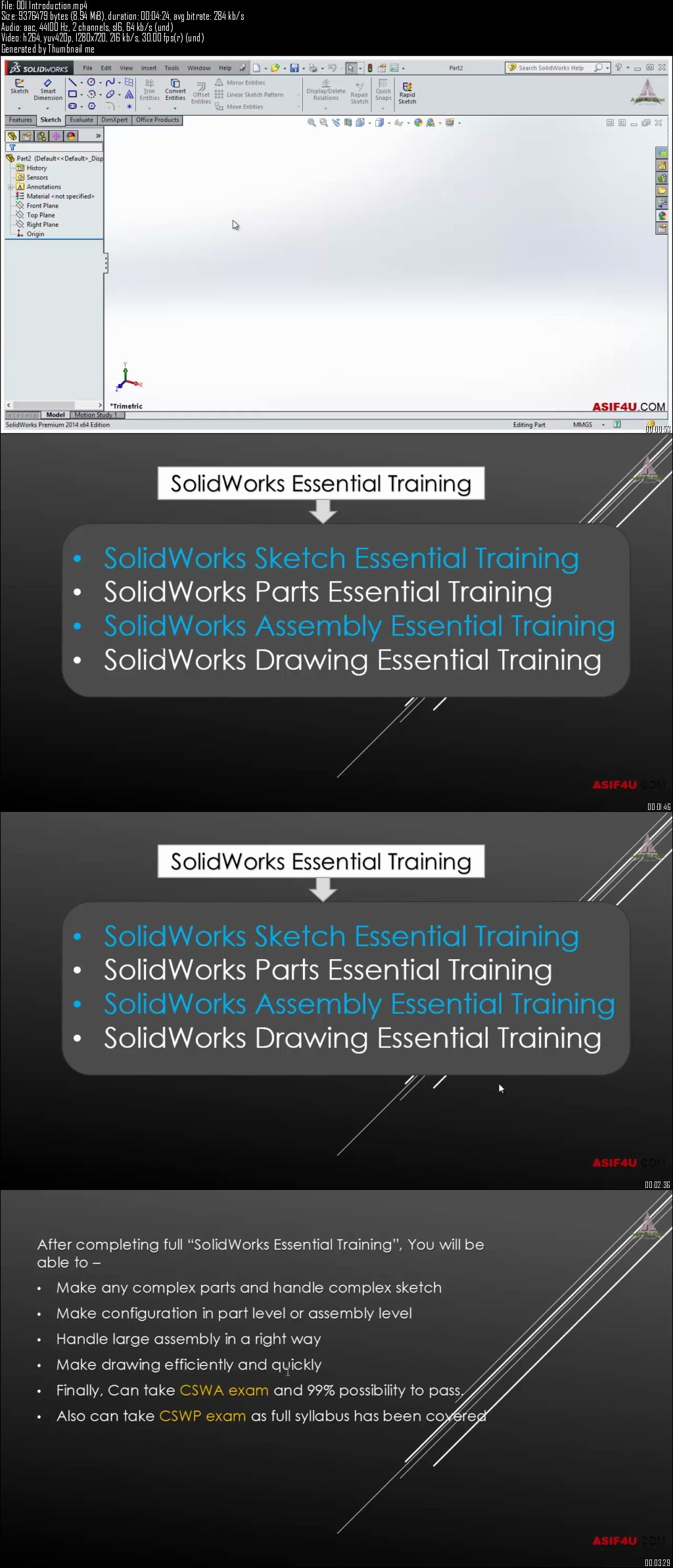 SolidWorks 2014 Sketch Essential Training