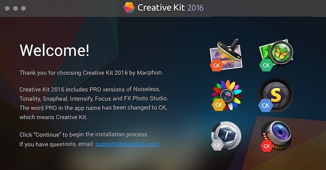 Macphun Creative Kit Pro 2016 Multilingual MacOSX