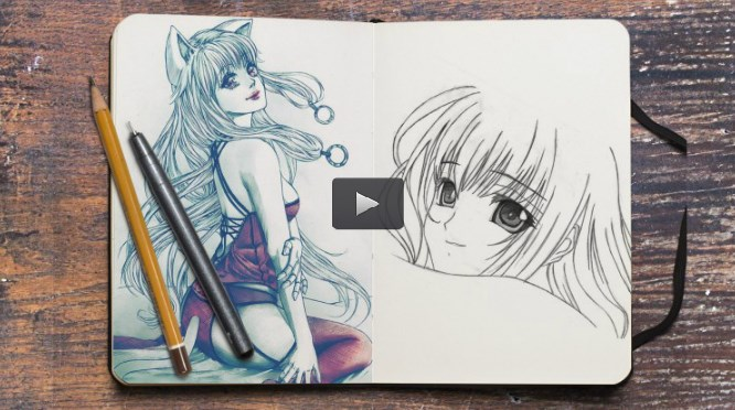 How to Draw Manga Faces and Hair