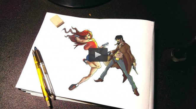 How to draw Awesome Poses: Figures in Action with Gestures