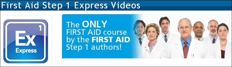 USMLE-Rx - First Aid Step 1 Express Videos 2013