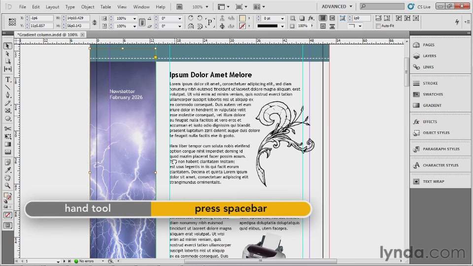 Lynda - Up and Running with InDesign with Deke McClelland [repost]