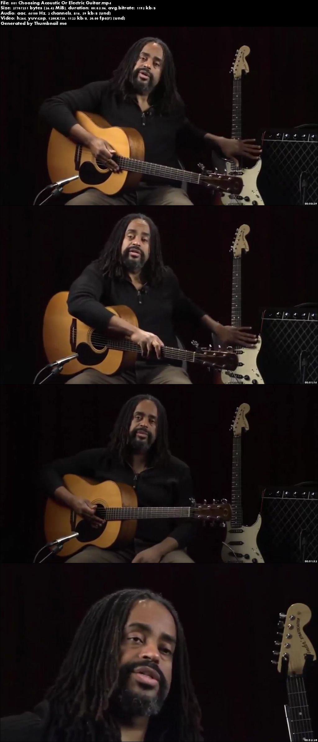 2015 - Master Class Learning How to Play Guitar from A to Z