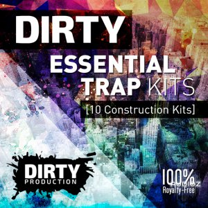 Dirty Production Dirty Essential Trap Kits WAV MiDi-AUDIOSTRiKE screenshot