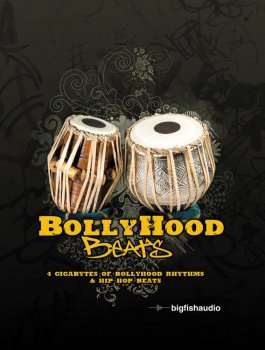 Big Fish Audio BollyHood Beats MULTiFORMAT DVDR D1-2-DYNAMiCS screenshot