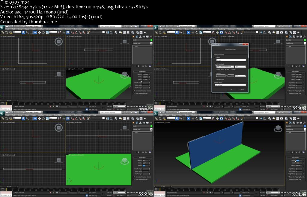 3DS Max Tutorial. Learn The Art of Modelling and Animation