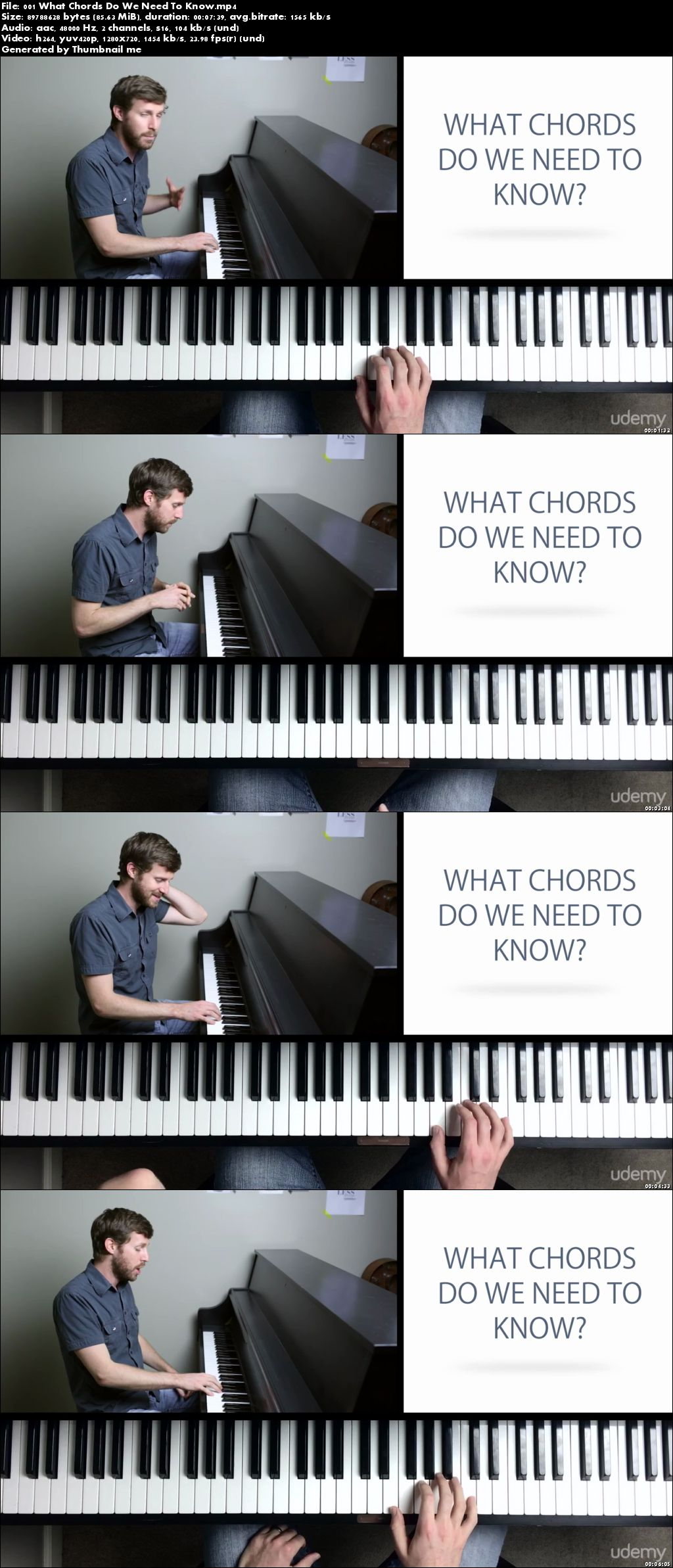 Intro To Chord Progressions: Write Simple Songs On Piano