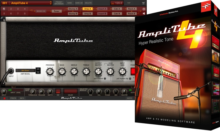 IK Multimedia AmpliTube 4 v4.0.1 MAC