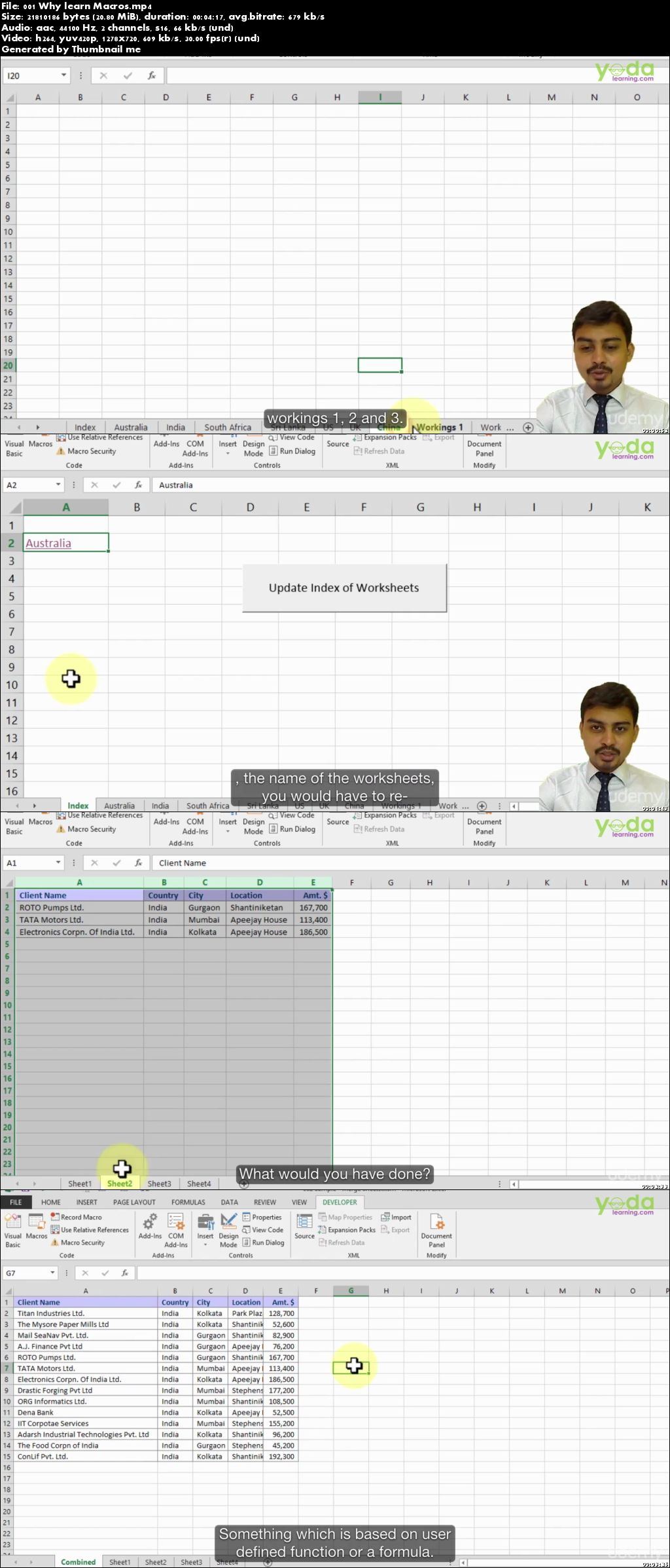 Excel VBA - A Practical Approach