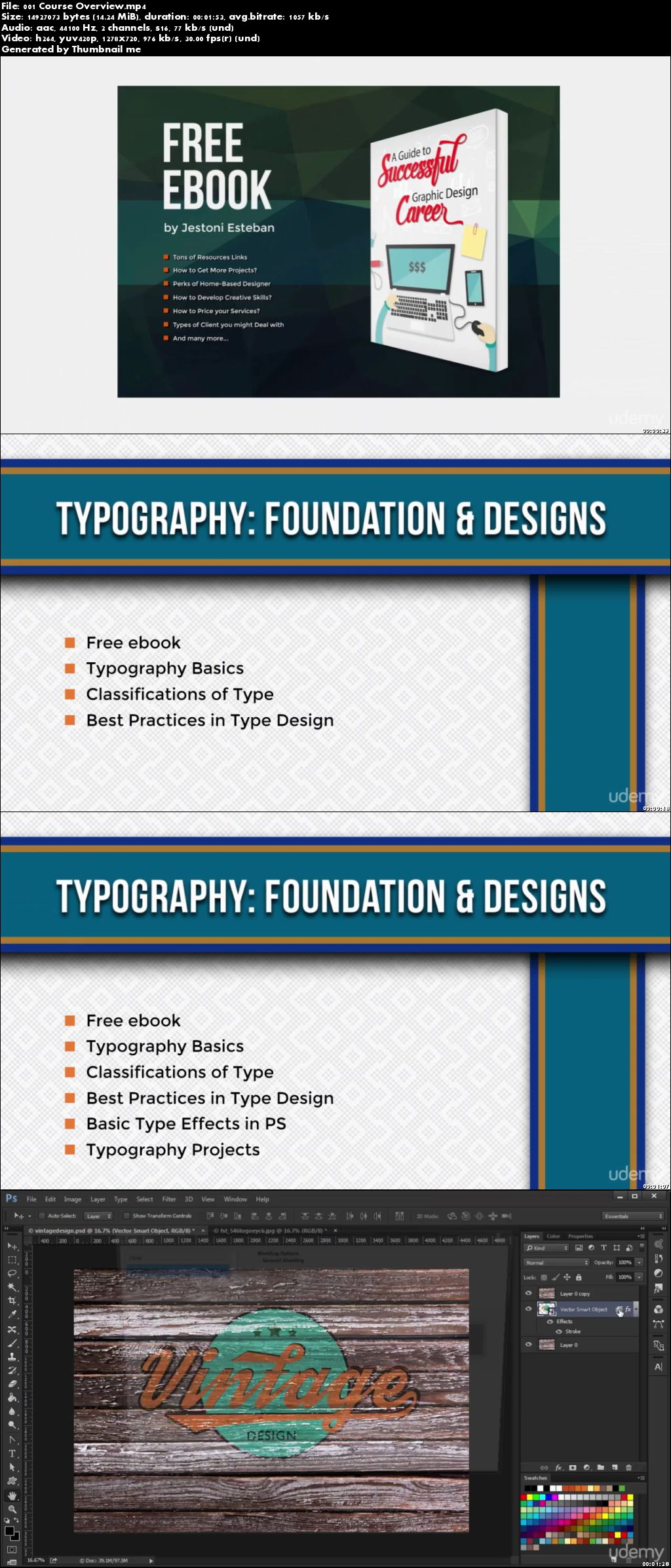 Typography: Learn the Foundation and Designs