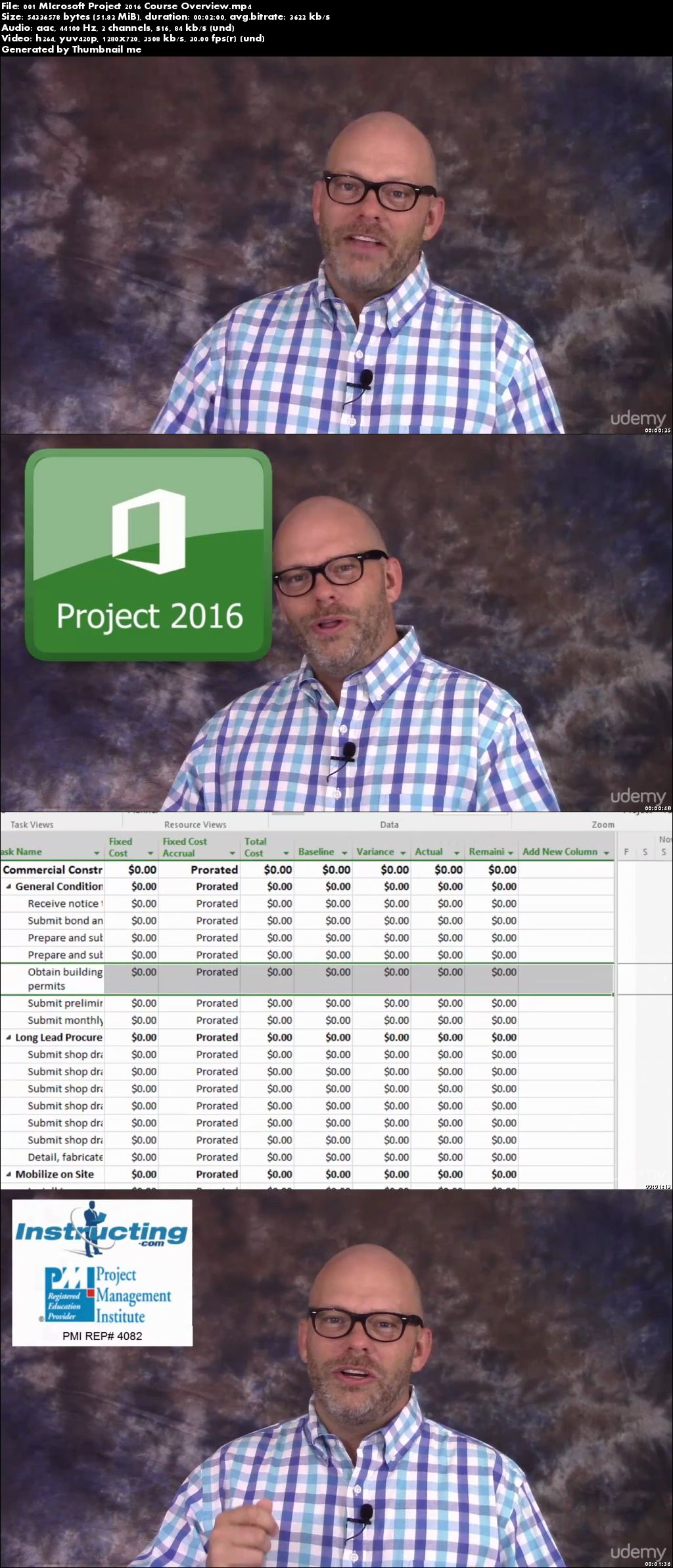Master Microsoft Project 2016