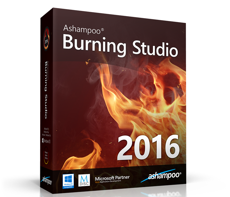 Ashampoo Burning Studio 2016 v16.0.0.17 Multilingual
