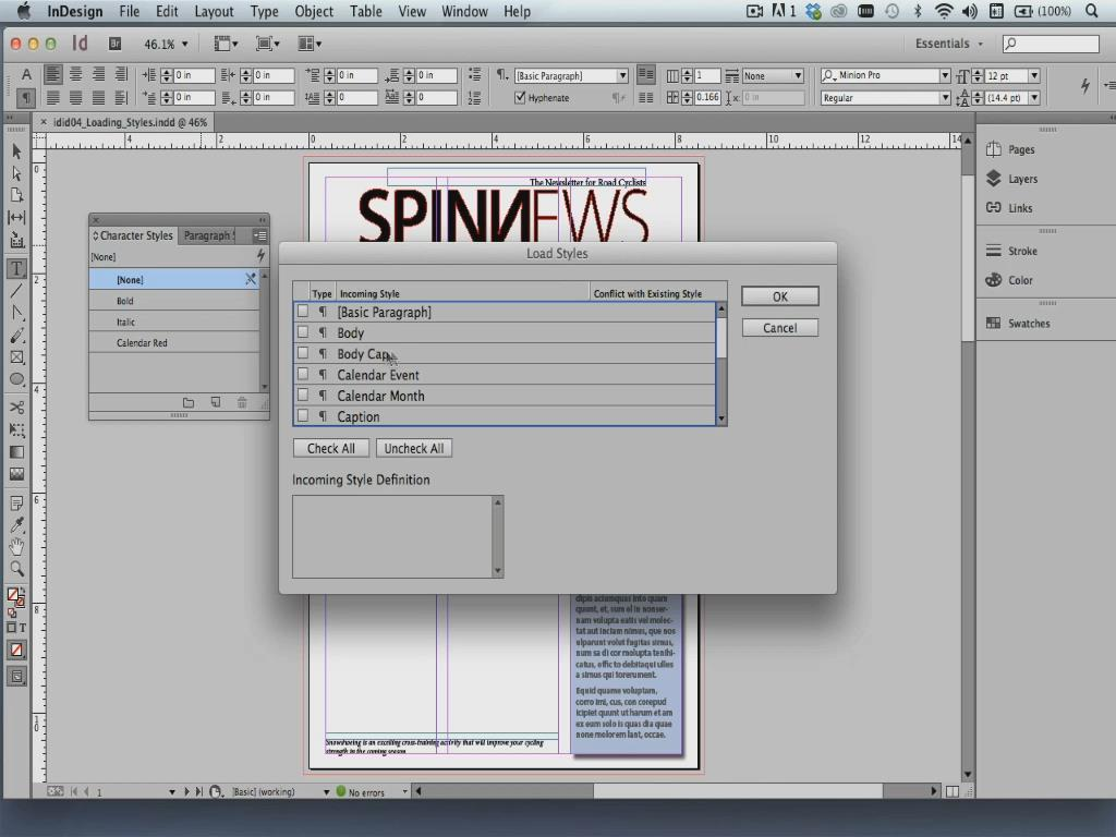LearnNowOnline - InDesign CC In-Depth, Part 2: Styles and Libraries