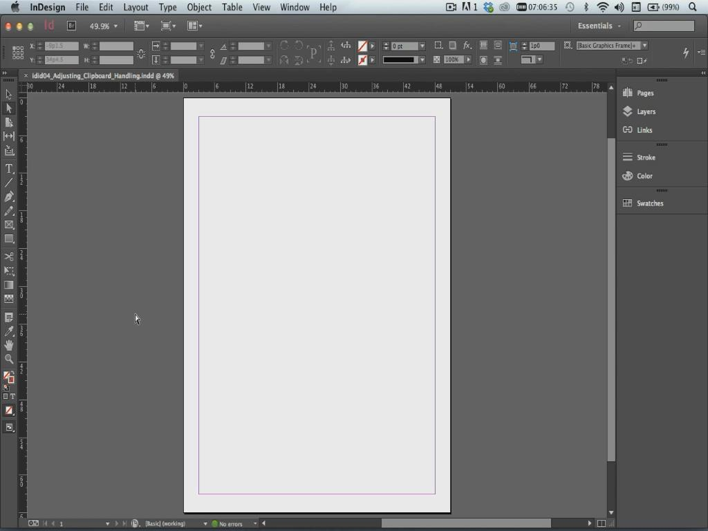 LearnNowOnline - InDesign CC In-Depth, Part 1: Preferences & Tools